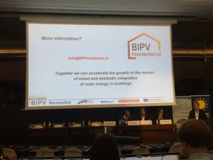 BIPV Nederland op de EUPVSEC