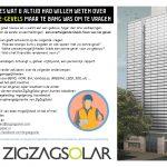 ZigZagSolar biedt een QuickScan van uw gevel
